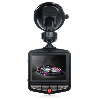 GT300 1080P 2.4 inch Car Dashcam Video RecorderCar DVR<br>GT300 1080P 2.4 inch Car Dashcam Video Recorder<br><br>Anti-shake: No<br>Apply To Car Brand: Universal<br>Audio System: Built-in microphone/speacker (AAC)<br>Battery Capacity (mAh?: 180mAh polymer lithium battery<br>Battery Charging Time: 2 -3 hours<br>Battery Type: Built-in<br>Camera Pixel : 3.0MP<br>Charge way: Car charger<br>Chipset: Generalplus1248<br>Chipset Name: Generalplus<br>Class Rating Requirements: Class 10 or Above<br>Decode Format: MJPEG<br>Delay Shutdown : Yes<br>Exposure Compensation: +1,+1/3,+2,+4/3,+5/3,-1,-1/3,-2,-2/3,-4/3,-5/3,2/3<br>Function: Loop-cycle Recording, Motion Detection, Delay Shutdown, Time Stamp, Parking Monitoring, Night Vision, G-sensor, HDMI output<br>G-sensor: Yes<br>GPS: No<br>HDMI Output: Yes<br>Image Format : JPEG<br>Image resolution: 5M (2592 x 1944), 8M (3264 x 2448), 12M (4032 x 3024)<br>Image Sensor: CMOS<br>Interface Type: AV-Out, Micro USB, Mini HDMI, TF Card Slot<br>ISO: Auto,ISO100,ISO200<br>Language: English,French,German,Italian,Japanese,Korean,Portuguese,Russian,Simplified Chinese,Spanish<br>Lens Size: 17MM<br>Loop-cycle Recording : Yes<br>Loop-cycle Recording Time: 10min,1min,2min,3min,5min,OFF<br>Max External Card Supported: TF 32G (not included)<br>Model: GT300<br>Motion Detection: Yes<br>Motion Detection Distance: No<br>Night vision : Yes<br>Night Vision Distance: 1 - 2M<br>Operating Temp.: 0 - 60 Deg.C<br>Package Contents: 1 x GT300 1080P Car Dashcam DVR, 1 x Car Charger ( Cable Length 300cm ), 1 x Bracket, 1 x USB Cable ( 42cm )<br>Package size (L x W x H): 16.00 x 12.00 x 8.50 cm / 6.3 x 4.72 x 3.35 inches<br>Package weight: 0.2540 kg<br>Parking Monitoring: Yes<br>Power Cable Length: 3M<br>Product size (L x W x H): 7.00 x 6.50 x 4.00 cm / 2.76 x 2.56 x 1.57 inches<br>Product weight: 0.0500 kg<br>Screen size: 2.4inch<br>Screen type: TFT<br>Time Stamp: Yes<br>Type: Full HD Dashcam, HD Car DVR Recorder<br>Video format: AVI<br>Video Frame Rate: 30fps<br>Video Output : AV-Out,HDMI<br>Video Resolution: 1080P (1920 x 1080),1440 x 1080,720P (1280 x 720),848 x 480,VGA (640 x 480)<br>Waterproof: No<br>Waterproof Rating : No<br>White Balance Mode: Auto<br>Wide Angle: 110 degree wide angle lens<br>WIFI: No<br>Working Time: About 20 min<br>Working Voltage: 5V