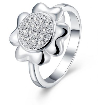 R733 Silver Plated New Design Finger Ring for Lady