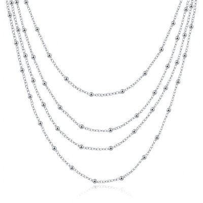 N751 New Fashion Popular Chain Necklace Jewelry