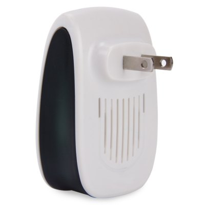 Electronic Pest Repeller Ultrasonic Rejector for Mouse MosquitoOther Home Improvement<br>Electronic Pest Repeller Ultrasonic Rejector for Mouse Mosquito<br><br>Available Color: White<br>Functions: Others<br>Material: ABS<br>Package Contents: 1 x Ultrasonic Pest Repeller<br>Package size (L x W x H): 17.50 x 15.00 x 5.00 cm / 6.89 x 5.91 x 1.97 inches<br>Package weight: 0.0940 kg<br>Product size (L x W x H): 8.50 x 5.60 x 3.00 cm / 3.35 x 2.2 x 1.18 inches<br>Product weight: 0.0500 kg<br>Types: Mosquito Repellent Bracelets