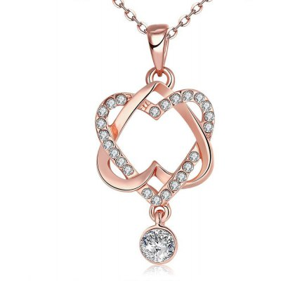 N030 Nickle Free Antiallergic Real Gold Plated Necklace Pendants New Fashion Jewelry