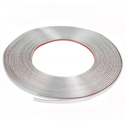 15m Auto Moulding Trim Strip Width 8mm Scratch Resistant