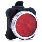 3 LED USB Rechargeable Bike Tail Light
