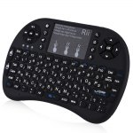 Israel Hebrew Language Rii i8+ Mini Wireless Keyboard Mouse Combo