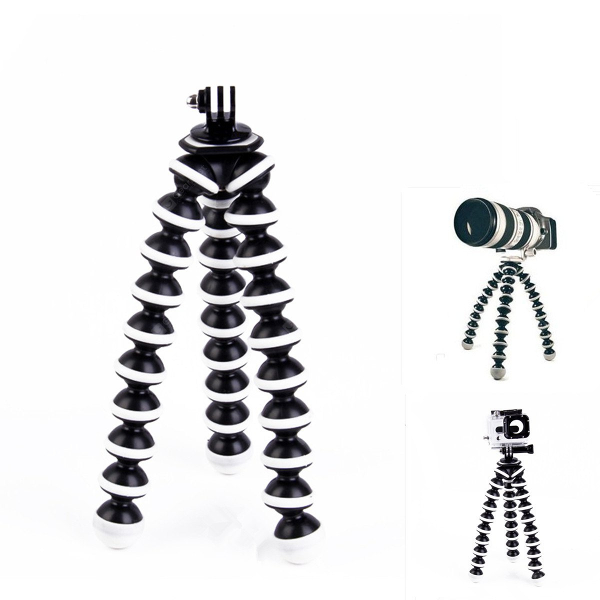 2-in-1 Action Camera Octopus Multi-Function Tripod Mounted Stand