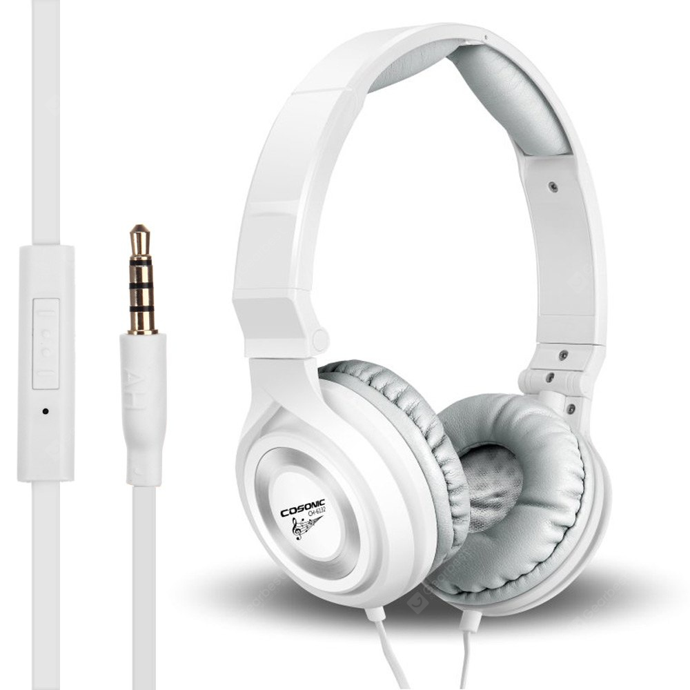 COSONIC CH-6132 Foldable Music Headphones with Mic