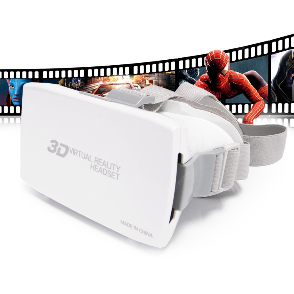 Arts Head Mount Plastic VR 3D Video Glasses 161384702