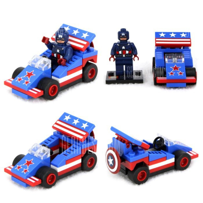Lepin Captain America Figure Vehicle Set-2.07 Online Shopping GearBest.com