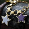 best Vintage Pentagram Hollow Out Charm Bracelet