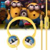 Bee-do Rotatable Stereo Music Headphones with Mic