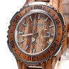 BEWELL ZS-100BG Metal Case Wooden Men Quartz Watch deal