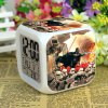 8 x 8 x 8 Cube Digital Alarm Clock LED Light Fun Alarm Gift