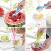 ABS Ice Cream Spoon Fruit Scoop with Press Button