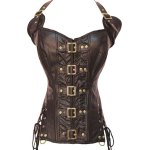 Brief Halter Self-Tie Corset For Women