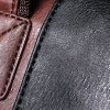 best Concise PU Leather and Rivets Design Men's Messenger Bag