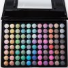 Vivid 88 Colours Pearl Matte Eye Shadow Palette with Mirror and Brush deal