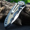 best Sanrenmu 7078 MUX-GVK Pocket Knife with G10 Handle