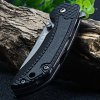 best Sanrenmu 7105 SUX-PH-T2 Multi-function Black Pocket Knife