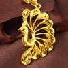Noble Solid Color Peacock Shape Pendant For Women for sale