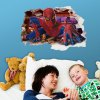 3D Spider-Man Design Wall Stickers photo