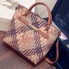 best Simple Weaving and Color Block Design Women's Tote Bag