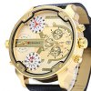 JUBAOLI 1068 Date Function Men Four Movt Quartz Watch deal