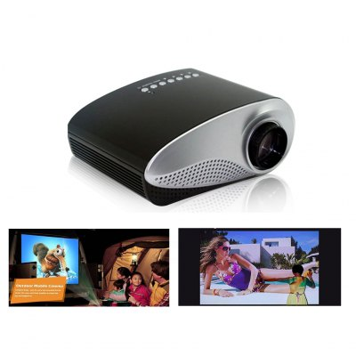 Excelvan HOT Home Theater LED LCD Projector 480*320 USB VGA HDMIprojectors<br>Excelvan HOT Home Theater LED LCD Projector 480*320 USB VGA HDMI<br>