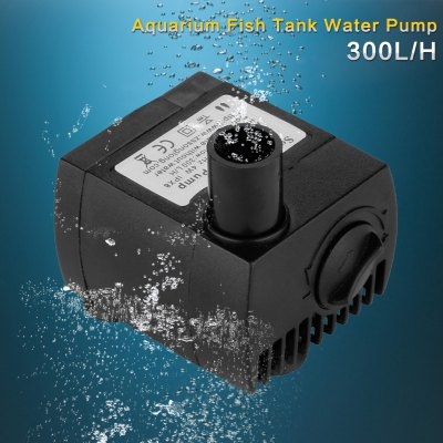 300 L / H Aquarium Water Pump UK PlugAir Pumps<br>300 L / H Aquarium Water Pump UK Plug<br>