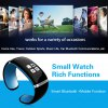 Trendy Style L12S OLED Bluetooth Bracelet Watch with Call ID Display / Answer / Dial / SMS Sync / Music Player / Anti-lost Function for Samsung / HTC + More photo