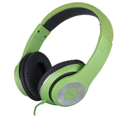 AUSDOM Original Extra Bass Full-Size High Quality DJ Wired Over Ear Headphones for IOS Tablet Smartphone Laptop
