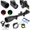cheap Excelvan Red and Green Illuminated Hunting Scope With Mount