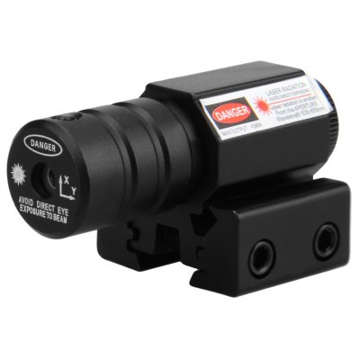 Red Laser Dot Sight Scope + Mount 11 / 20mm