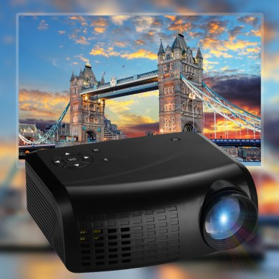 Excelvan E07 Mini LED LCD Projector