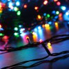 best EXCELVAN 131 Ft. Multi Color Battery Operated 300 LED 8 Function Indoor Outdoor Cool Touch Connectable Holiday String Lights Kit with 6 Hour Built in Timer