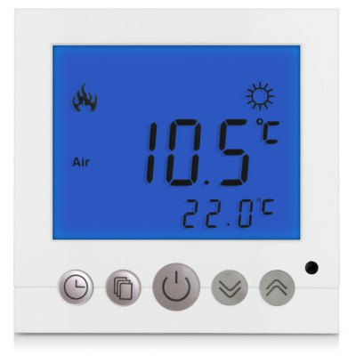 BYC16.H3 16A Blue LCD Display Thermostat
