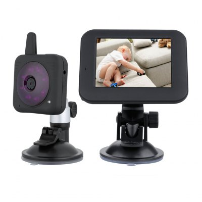 2.4GHz Wireless Digital 3.5″ LCD Color Baby Monitor Camera US Plug