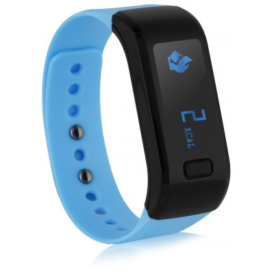 Excelvan OLED Smart Bracelet IP67 Waterproof Bluetooth 4.0 Pedometer Tracking Calorie Health Wristband Sleep Monitor Cal