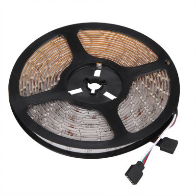 Excelvan 16.4ft 5M Waterproof Flexible strip SMD3528 RGB 300LEDs Color Changing LED Light Strip Kit, IP65 Waterproof, 44Key IR Remote Control+ 2A Power Adapter, Multi-color Blossom Decorative Gardens,LED Strips<br>Excelvan 16.4ft 5M Waterproof Flexible strip SMD3528 RGB 300LEDs Color Changing LED Light Strip Kit, IP65 Waterproof, 44Key IR Remote Control+ 2A Power Adapter, Multi-color Blossom Decorative Gardens,<br>
