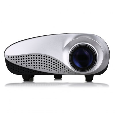 Excelvan HOT Home Theater LED LCD Projector 480*320 USB VGA HDMI UK Plug
