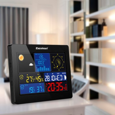 EXCELVAN COLOR Wireless Weather Station ClockOther Home Improvement<br>EXCELVAN COLOR Wireless Weather Station Clock<br>