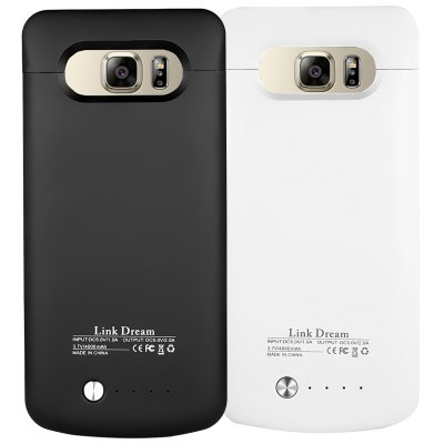 External Backup Battery case  4000mAH  for Samsung Galaxy Note5 Black