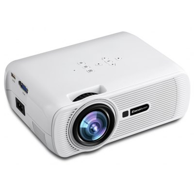 Excelvan Mini Portable Multimedia LCD LED Projector