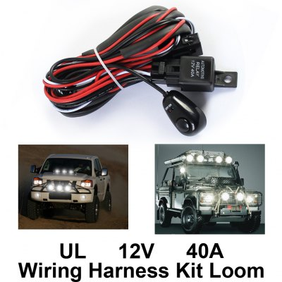 Wiring Harness Relay Switch Control