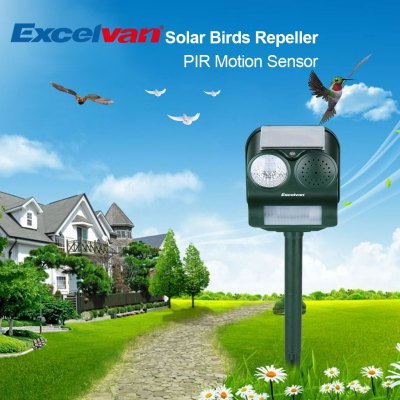 Excelvan GH - 193 Solar Sound Flashlight Repeller