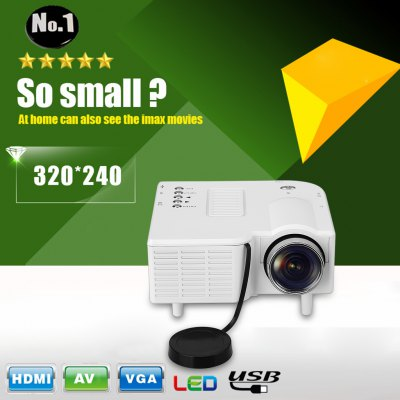 ExcelvanGM40 Portable Mini Multimedia ProjectorProjectors<br>ExcelvanGM40 Portable Mini Multimedia Projector<br>