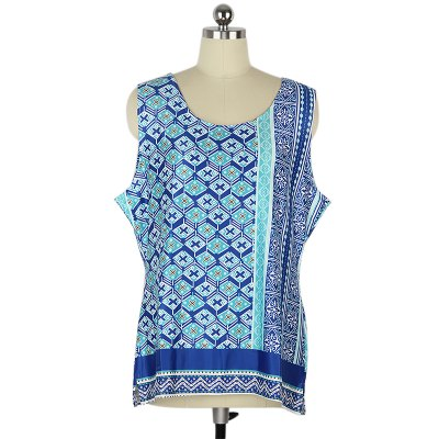 2016 new arrival printing   vest women\\\'s  retro national style tank top