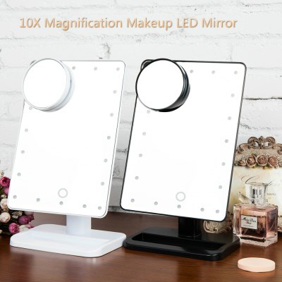 Ovonni L207A 10X Magnifier LED Touch Screen Makeup Mirror