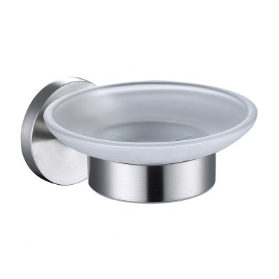 Finether High Quality Durable Bathroom Accessories Brushed 304 Stainless Steel Wall Mounted Soap