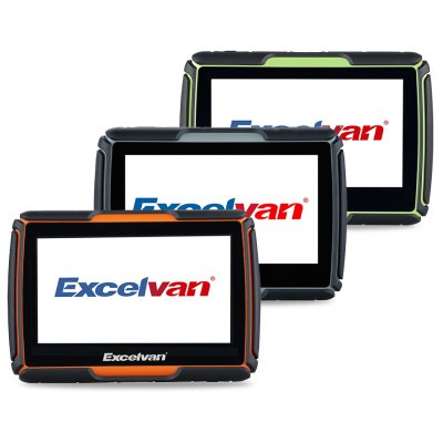 Excelvan 8GB 4.3 inch Touch Screen Motorcycle Car GPS
