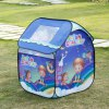 cheap Excelvan Kids Toddlers Pop-up Play Tent Dream Theme Simple Blue Children Game Play Tent, Kids Fun Portable Folding Tent Indoor Outdoor Playhouse Toy